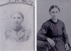 Nancy Jane Cleland Mitchell and Elizabeth (Betsy) Cleland 1900