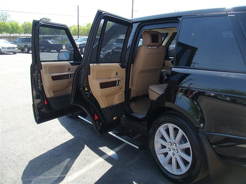 Armored Bulletproof Land Rover Range Rover Hse