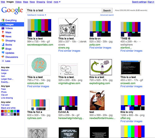 Google's New Interface