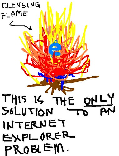 fuck internet explorer