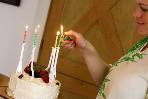 Big Berry Birthday Cake