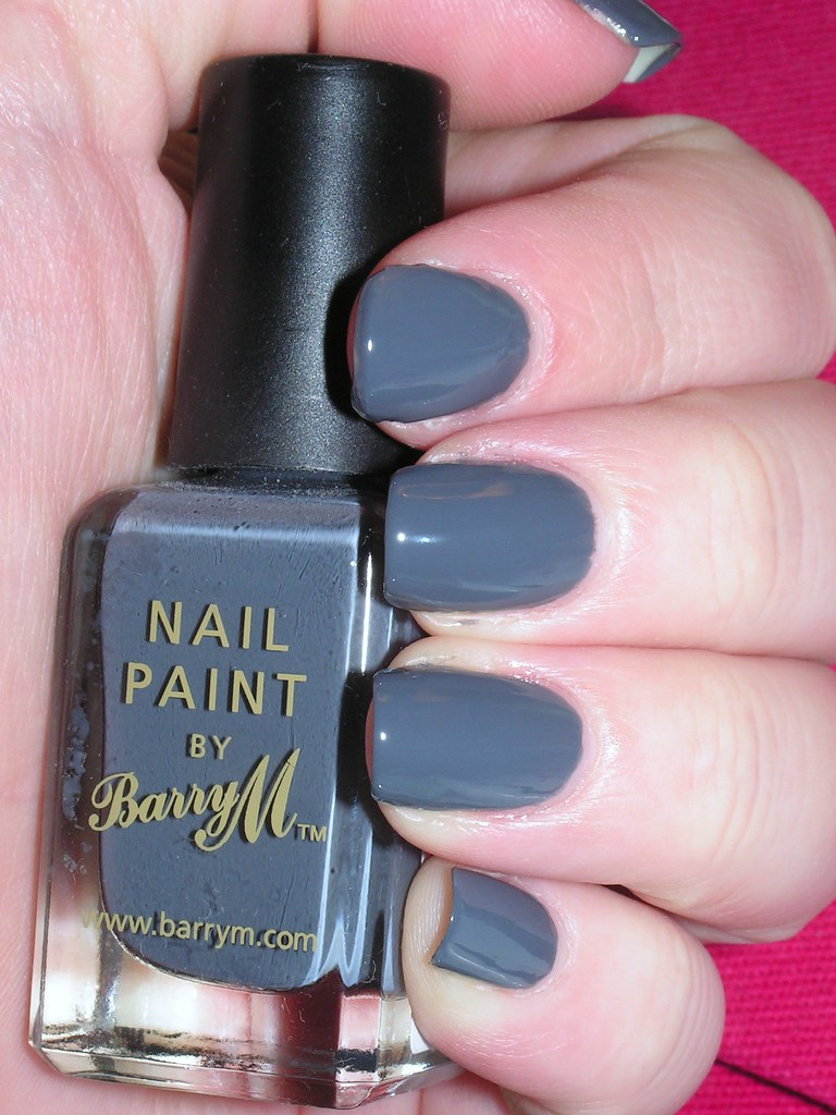 Barry M 293 Grey 2C no TC