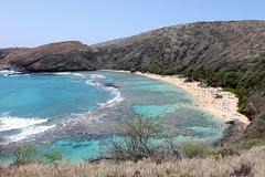 Hanauma Bay, O'ahu, Hawai'i (shyzaboy) Tags: ocean usa beach hawaii oahu hanaumabay kokohead hanaumabaynaturepreserve