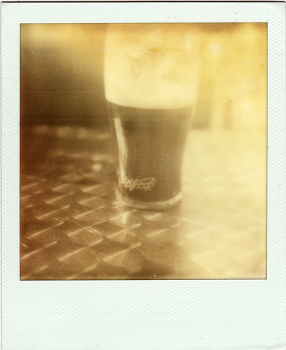 My first PX100 Shot: Guiness