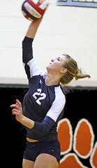 Yorktowne 18s 3-6-10 (2612) (SJH Foto) Tags: girls sports club team tournament revolution spike volleyball 18s yorktowne 3610 u18s