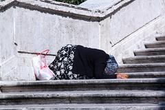 Gli Invisibili (Ezio Cerutti) Tags: poverty life people italy man stairs canon eos women cuneo povert ezio solitudine carit theinvisibles cerutti flickrcolour 450d canoneos450d canonefs18200mmf3556is cuneofotografia wwwphotopoliit