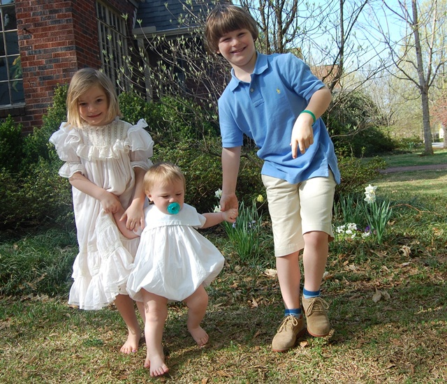 Easter Frocks 2 2010