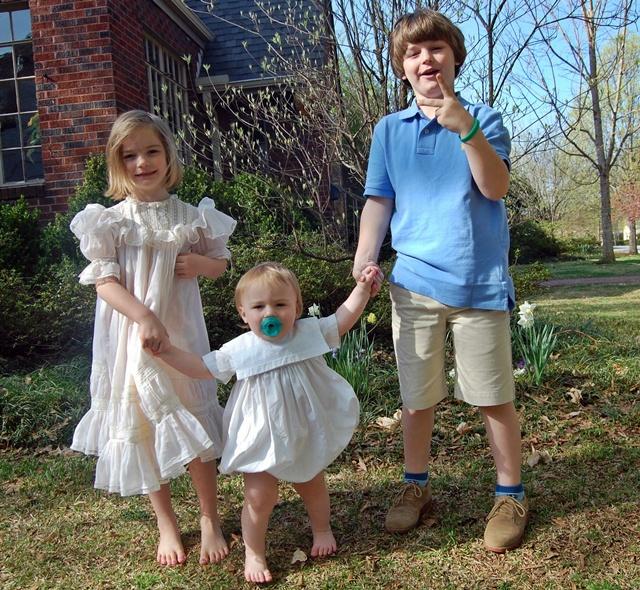 Easter Frocks 2010