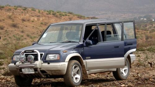 4WD Suzuki Escudo