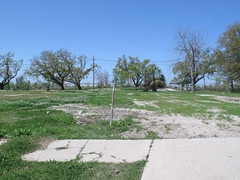 This is what most of the neighborhood looks like (marieray) Tags: neworleans ninthward makeitright