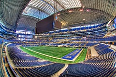 And then there was one (Matt Pasant) Tags: canon landscape football wideangle fisheye orientation nosebleed 50yardline jerryvision cowboysstadium photospecs canoneos5dmarkii sigma15mmf28dgfisheye hopeidontfall