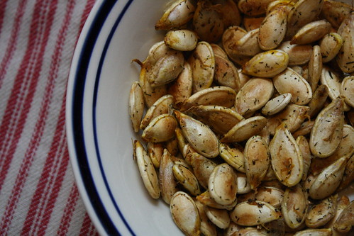 Seasoned Squash seeds.