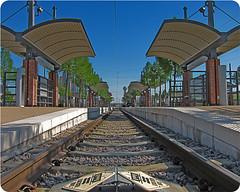 IMG_1039 Victory tracks H (nffcnnr) Tags: train dallas track texas publictransportation traintracks rail commute dfw lightrail tre dart consumerist dallastx trinityrailwayexpress victorystation nffcnnr pegnews