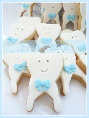 first teeth cookies