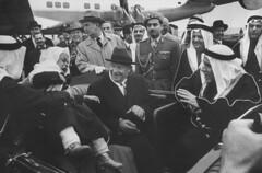 Dwight D. Eisenhower;Saud Ibn Abdul Aziz [& Family] [RF: Saudi Arabia RF] (K_Saud) Tags: car out dc washington king unitedstates president son prince saudi arabia abdul dwight rf aziz eisenhower ibn frightened lifting saud timeincown 937349 mashhur
