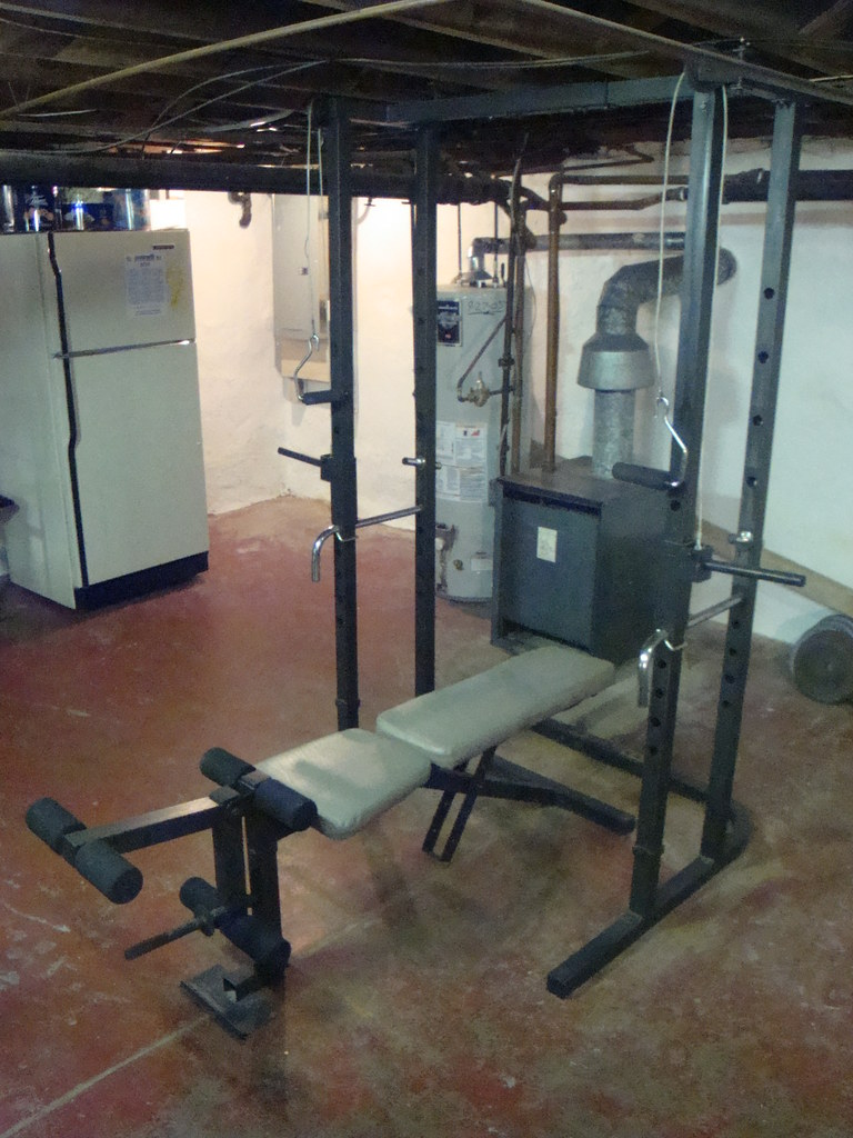 Weider Pro 545 Rack and Bench