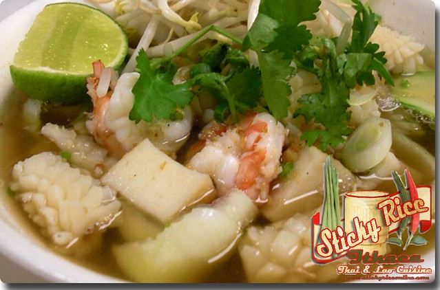 Guay Tiew Seafood (click on link below for pricing) by Sticky Rice Online