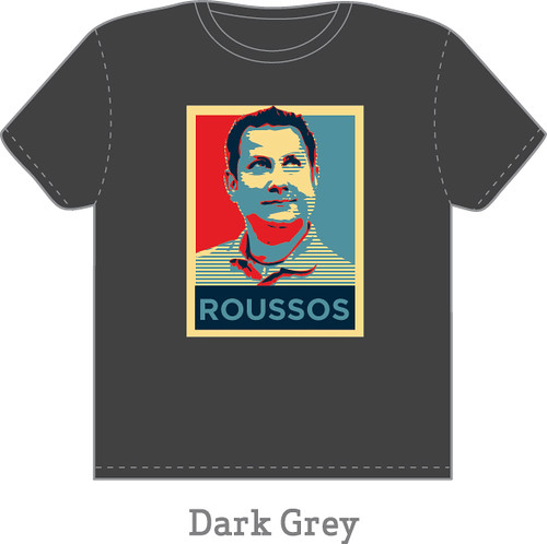 Roussos T-Shirt Dark Grey