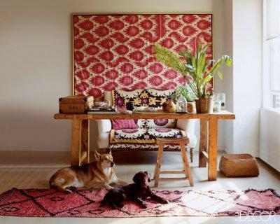 Elle Decor Ikat Design Trends