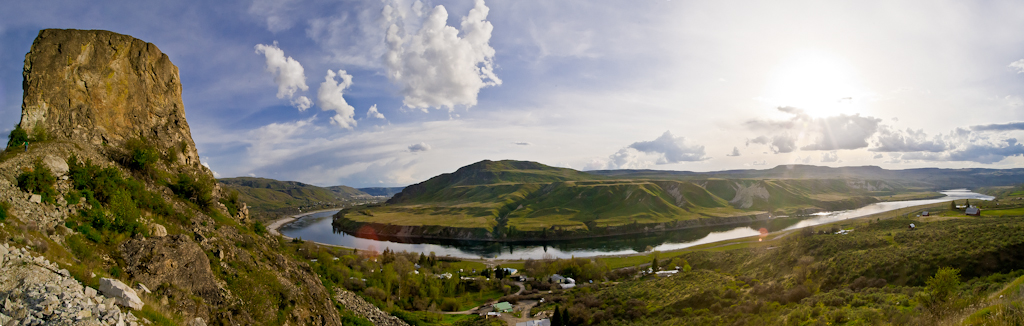 Coulee River Panorama