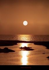 Trail of Light (aroon_kalandy) Tags: light sunset orange sun india beach nature beauty creativity asia adobephotoshop artistic awesome kerala greatshot impressions naturelovers calicut lighttrials beautifulshot anawesomeshot malayalikkoottam sonyh50 aroonkalandy