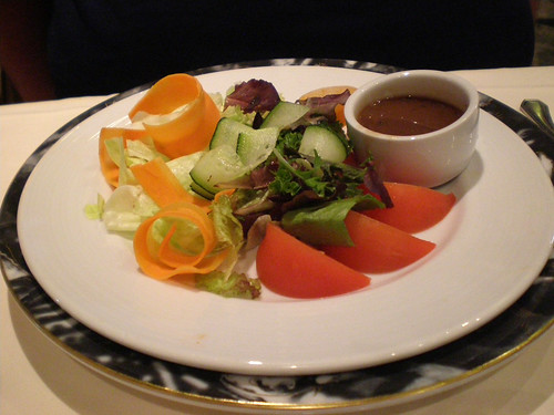 Carnival Spirit - Mixed Greens Salad