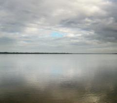 come dream with me... (tteerriitt) Tags: blue light white reflection water clouds grey dawn poetry poem gray estuary leschenault australind ridvn2010