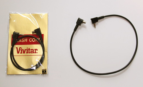 Vivitar to PC sync cable