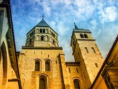 Abbey of Cluny - Cluny, France (K r y s) Tags: city france 71 bourgogne cluny abbaye