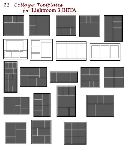 21 collage templates download adobe lightroom flickr