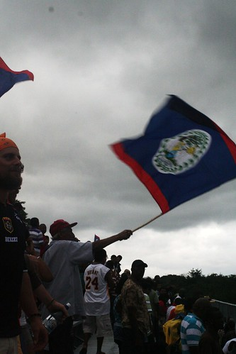 Belize vs Nicaragua futbol game