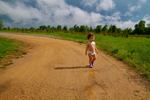 dirt road walker