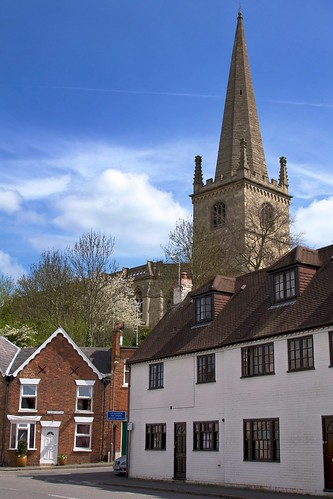 View of Buckingham Church, from Nelson Street