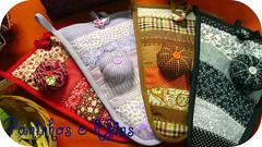 Todos Juntos!!! (Paninhos e Afins) Tags: fuxico tecido bordado alfineteiro artesanatoemtecido paninhoseafins portatesoua tirasdetecido
