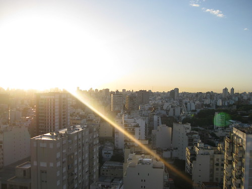 Morning Sun in Buenos Aires