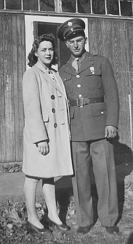 grandma and grandpa during WWII