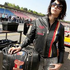 Vintage Lady GP (Squadra Piloti) Tags: dakota automoto wwwsquadraro gecimotor jachetefemeipiele
