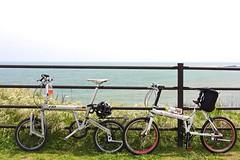 犬吠埼と自転車