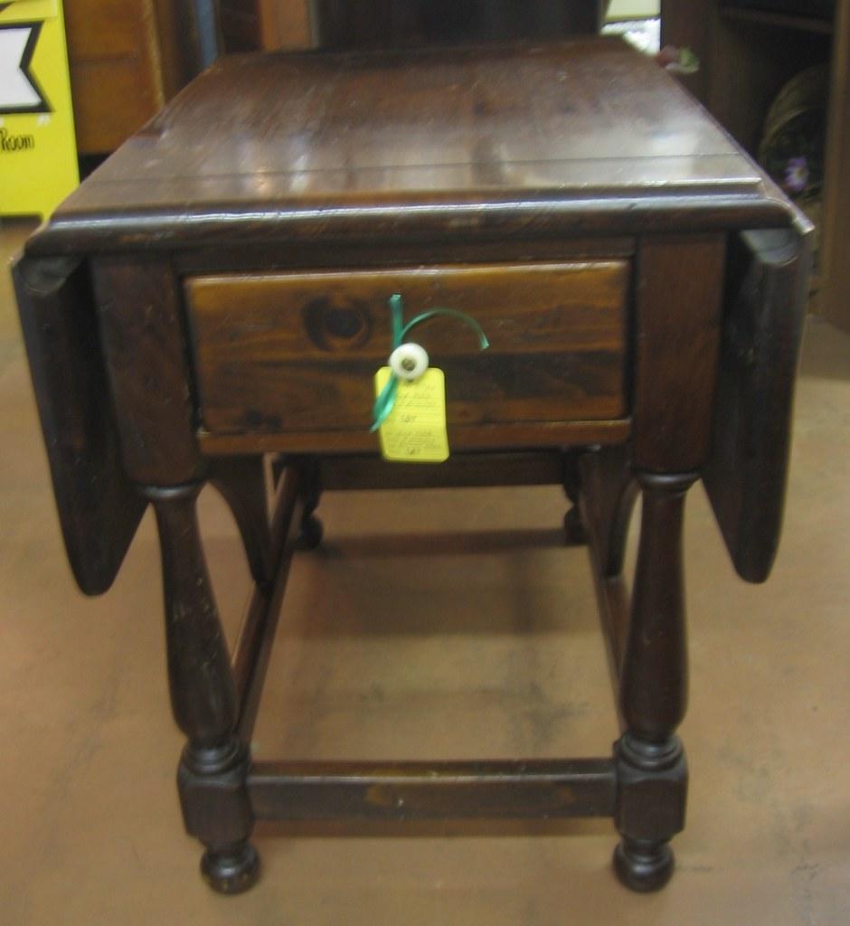 Antique Pine Drop Leaf Table Antique Pine Drop