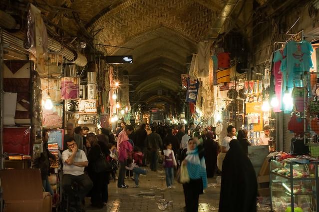 shop shopping persian iran grand east shops iranian bazaar tehran middle economy