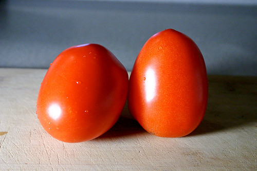 two little tomatoes