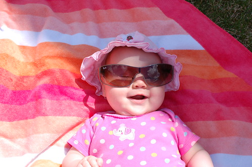 Too Bright? Borrow Mommy's Shades!
