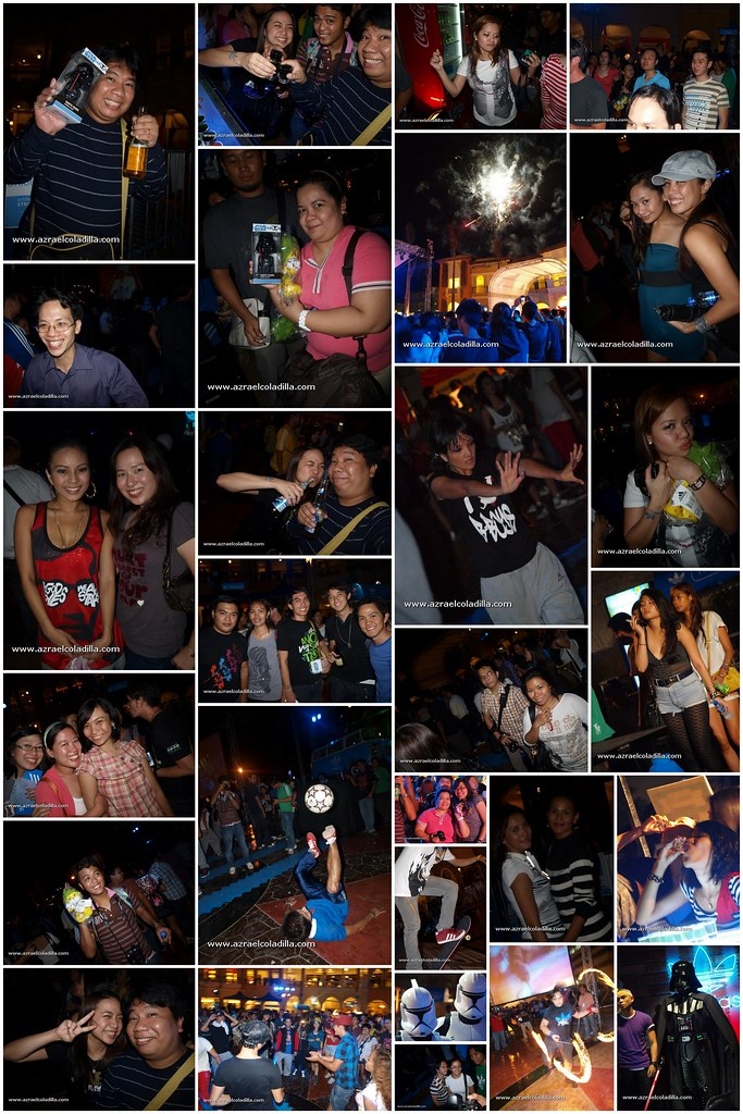 adidas party collage