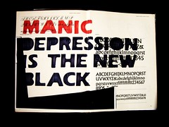 new black (alshepmcr) Tags: red black typography text depression typo illness mental bipolar manic