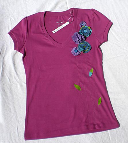 T-shirt floreale