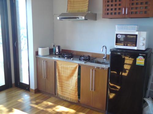 Klong Nin Seaview Villa fully equipped Kitchen