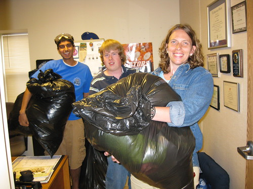 Chemistry faculty and students provide flood relief