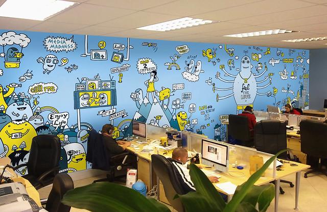 Zoopy Office - mockup by Zeptonn