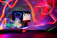 139/365 (Jesus Belzunce) Tags: light project painting paper toys paint pentax faith jesus days led leds 365 dias proyecto linterna papertoys belzunce k200d jesusbelzunce