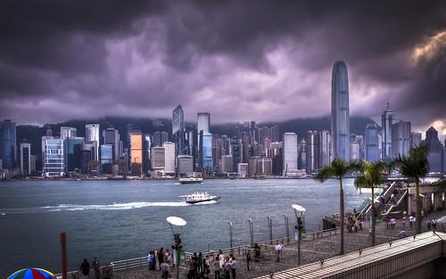 Hong Kong from Tsim Sha Tsui Promenade